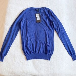 NWT Authentic Gucci V Neck Cashmere Knit Sweater